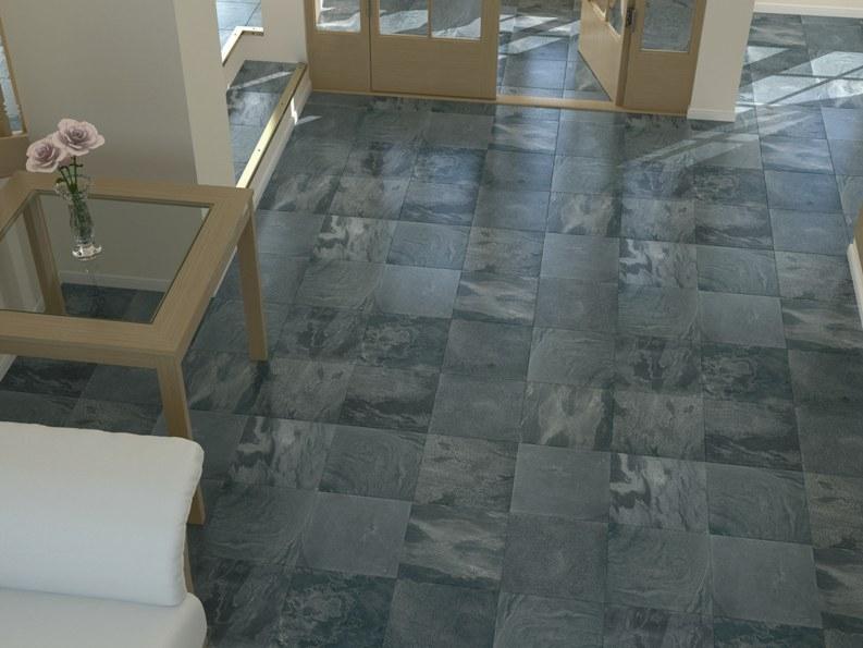 Silver Grey Honed Slate 300 Mm X 300 Mm X 10 Mm